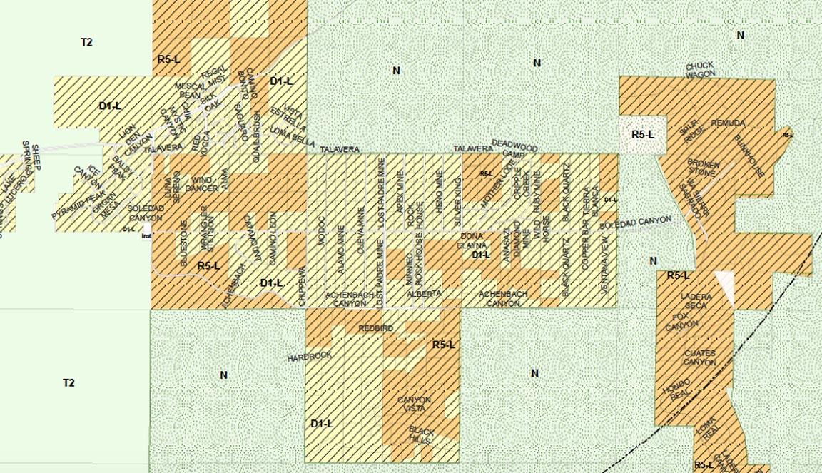 Nov 3rd Proposed Zoning